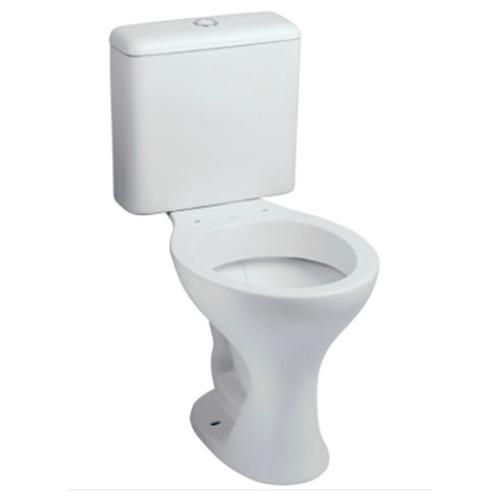 Bacia Oval Sanitário com Caixa Acoplada Normatizada