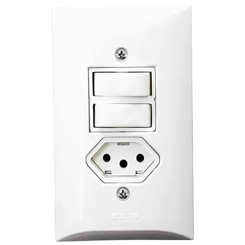 Interruptor Simples com Placa