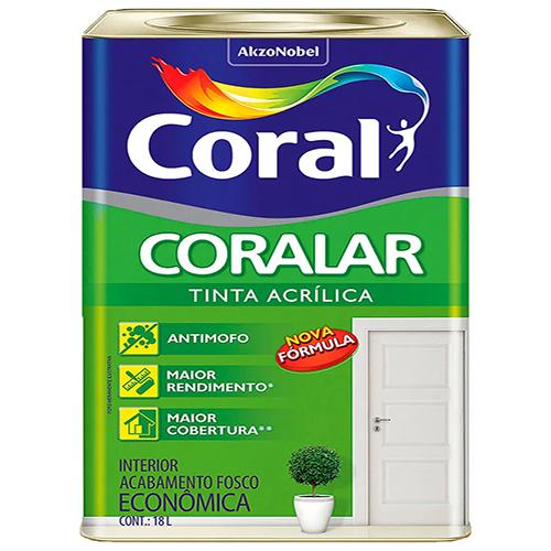 Tinta Coralar Branco/Gelo 18L